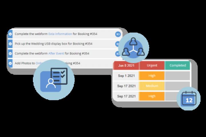 Manage Event Tasks