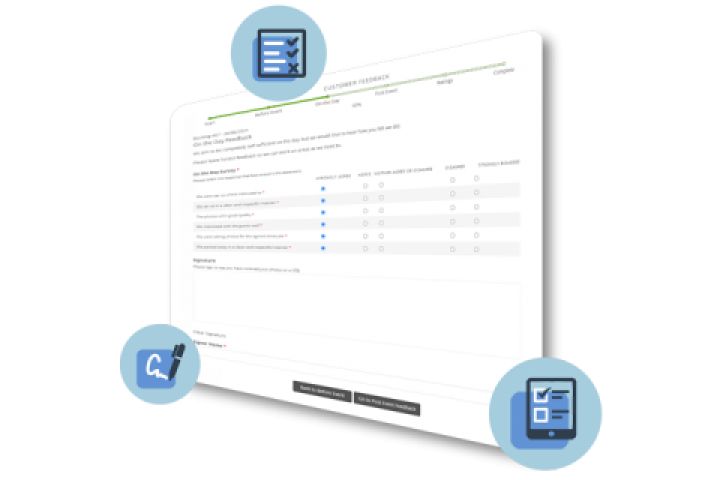 Customer Questionnaires & Webforms